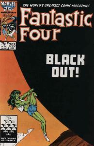 Fantastic Four (Vol. 1) #293 VF; Marvel | save on shipping - details inside