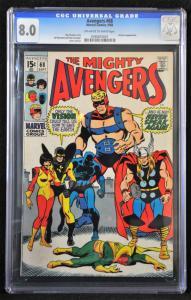 Avengers #68 (Marvel, 1969) CGC 8.0