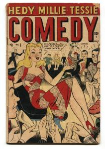 Comedy #1 1948-Timely-Millie The Model-Hedy Devine-Tillie The Typist-G/VG