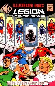 LEGION OF SUPER-HEROES INDEX #5 Very Good Comics Book