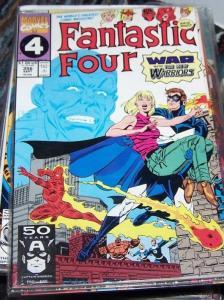 FANTASTIC FOUR  #356 1991  Marvel  +new warriors nova  night thrasher