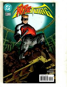 Lot Of 10 DC Comics Nightwing 21 22 23 24 25 26(2) 29 30 31 Batman J343