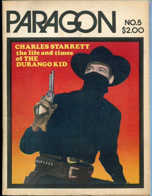 Paragon #5 1973-Durango Kid-Charles Starrett-Captain Marvel-info-movie pix-FN