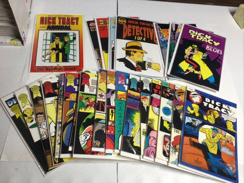 Dick Tracy Weekly/Monthly Reprint Collection With Mini Series Near Complete