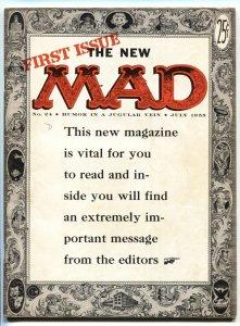 MAD MAGAZINE #24 1955 First magazine issue EC  FN+