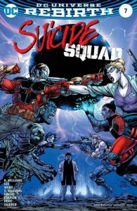 SUICIDE SQUAD #7, NM, Jim Lee, Rebirth, 2016 2017, more Harley Quinn in store