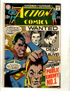 Action Comics # 374 VG DC Comic Book Batman Superman Flash Wonder Woman Atom GK5