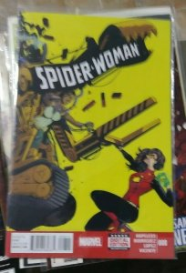 SPIDER-WOMAN  # 8 2015 MARVEL  JESSICA DREW LADY CATAPILLAR BEN URICH