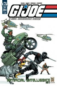 GI JOE A REAL AMERICAN HERO #264 VARIANT CVR B FRAGA NM