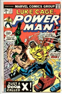 Luke Cage POWER MAN #27 VG+, 1973 1974, Kung-Fu, Hero for Hire, more in store
