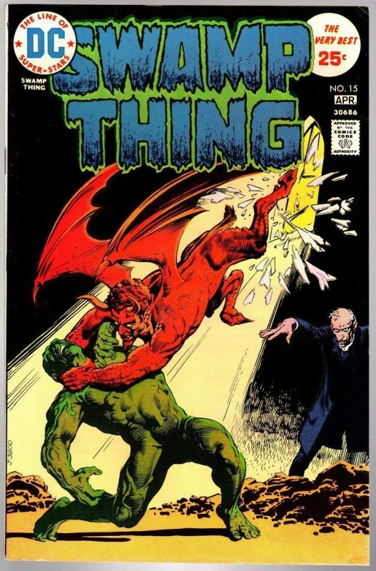 SWAMP THING 15 FN+  April. 1975