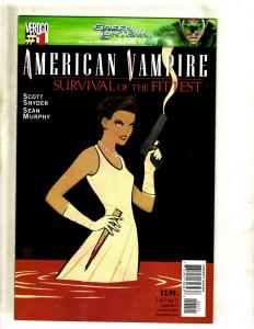 American Vampire # 1 NM VARIANT Cover DC Vertigo Comic Book Snyder Horror J381