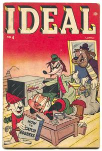 Ideal #4 1945-Timely-Super Rabbit-Final issue VG+