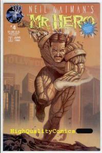 MR HERO #4 5 6, NM, Neil Gaiman's, Robot, Bryan Talbot, 1995, SteamPunk