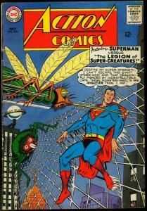 ACTION COMICS #326 1965-SUPERMAN-LEGION OF CREATURES    VG