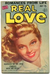Real Love #48 1952- Ace Golden Age Romance- Painted cover FN