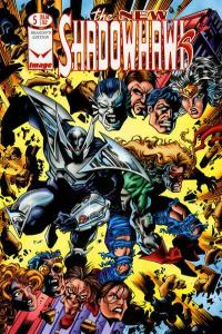 New Shadowhawk #5, NM + (Stock photo)