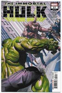 Immortal Hulk #27 Alex Ross Main Cvr (Marvel, 2020) VF/NM