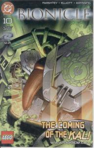 Bionicle #10 VF/NM; DC | save on shipping - details inside
