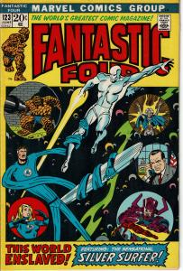 Fantastic Four #123, 6.5 or better *KEY* Silver Surfer vs. Fantastic Four