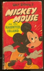Mickey Mouse On The Haunted Island #708-10 1950-Floyd Gottfriedson-FN