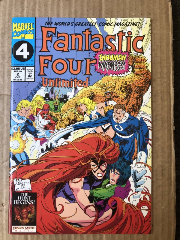 Fantastic Four Unlimited #2 (1993)