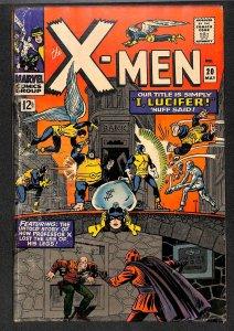 X-Men #20 GD- 1.8 Marvel Comics