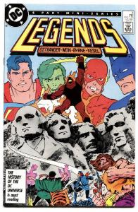 Legends #3 SUICIDE SQUAD first APPEARANCE DC COMIC BOOK 1987.