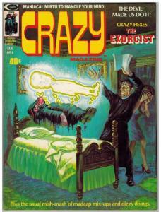 CRAZY (1973) 6 VG-F Aug. 1974