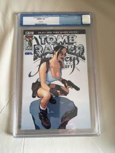 Tomb Raider Journeys #2 2002 CGC 9.8 Adam Hughes Cover