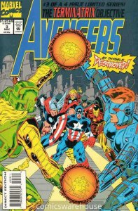 AVENGERS: THE TERMINATRIX OBJECTIVE (1993 MARVEL) #3 NM