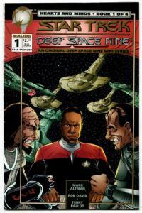 Star Trek Deep Space Nine Hearts & Minds #1 (Malibu, 1994) FN