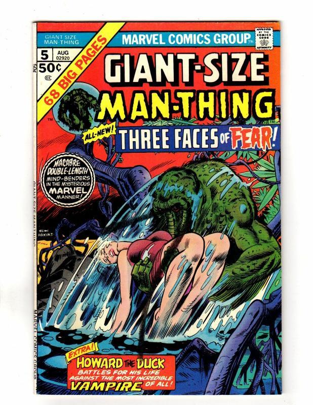 MAN THING (1974) GS  5 FINE  Aug. 1975