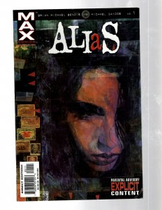 Alias # 1 VF Marvel Comic Book Jessica Jones 1st Appearance Brian Bendis RB27