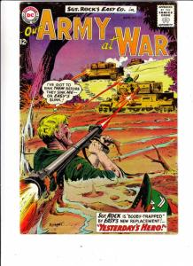 Our Army at War #133 (Aug-63) VG/FN Mid-Grade Easy Company, Sgt. Rock
