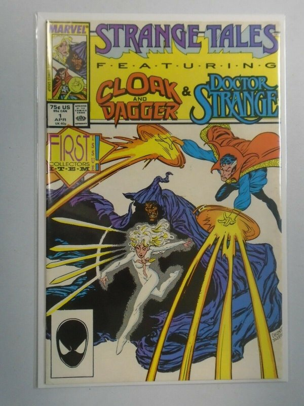 Strange Tales #1 8.0 VF (1987 2nd Series)
