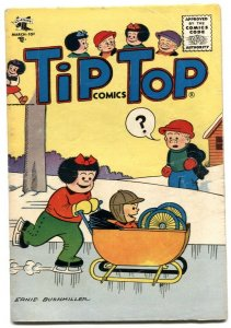 Tip Top Comics #196 1956- PEANUTS- Nancy VG