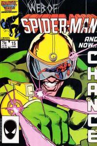Web of Spider-Man (1985 series) #15, VF+ (Stock photo)
