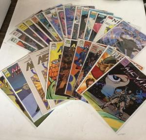 Nexus 1-4 1-80 1-3 1-2  90 Issue Lot Set Run Nm Near Mint 9.4 See Description