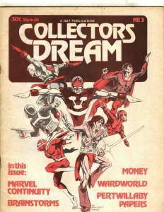 Collectors Dream G&T Publication # 3 FN Magazine Comic Book Marvel Nova JK1