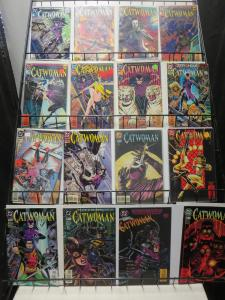 Catwoman Mini-Library Lot of 34Diff from 1993 to 2015 Batman's Beau Adventures