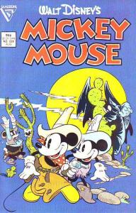Mickey Mouse, Walt Disney's #229 (Aug-87) NM Super-High-Grade Mickey Mouse, G...
