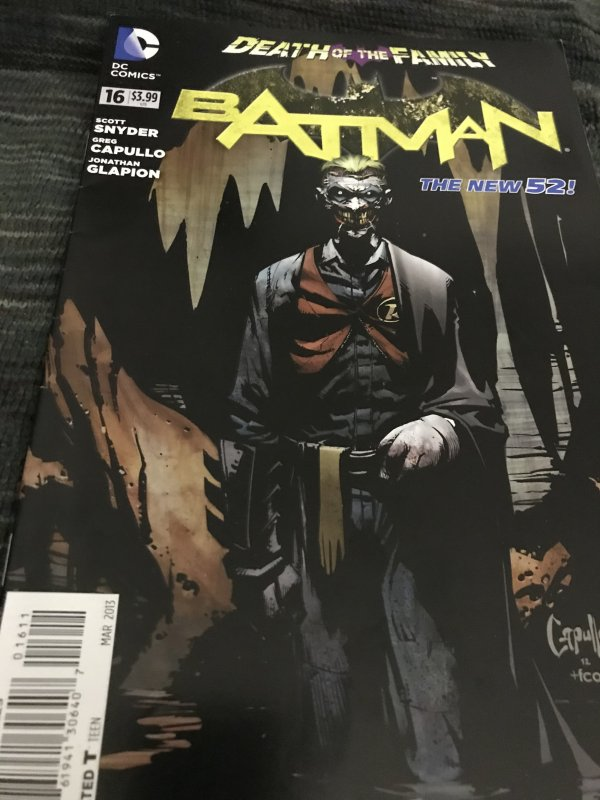 DC Batman Death Of The Family #16 Mint The New 52