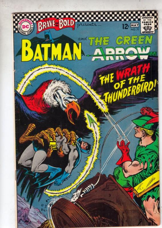 Brave and the Bold, The #71 (May-67) VF+ High-Grade Batman