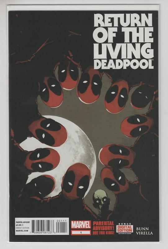 RETURN OF THE LIVING DEADPOOL Complete Set 1-4 4 issues All NM- First Prints