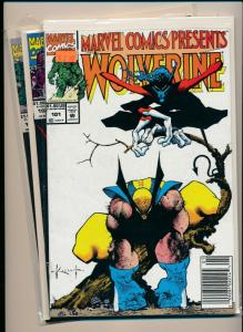Marvel Lot of 3- WOLVERINE/FLIP GHOST RIDER/Dr. Strange F/VF #100-103 (PF626)