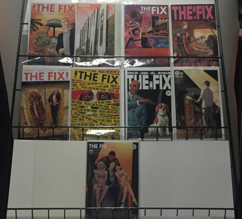 The Fix 1-9 Image Nick Spencer Steve Lieber Comic Crime Comedy Gold! VF-NM