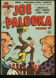 JOE PALOOKA #11 1947-HARVEY COMICS-BOXING-BLACK CAT VG