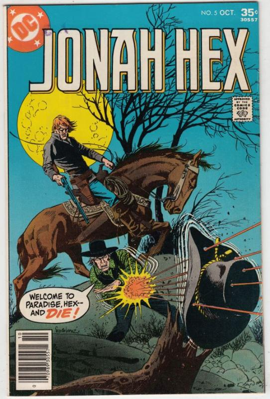 Jonah Hex #5 (Aug-77) VF/NM- High-Grade Jonah Hex