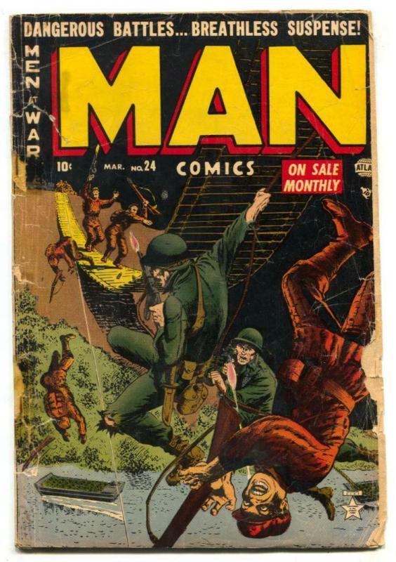 Man #24 1953-Atlas comic- Korean War stories-Napoleon FAIR